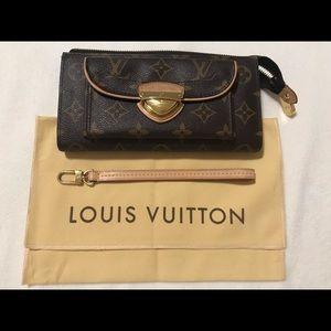 Louis Vuitton wallet with wristlet attachment